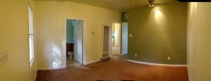 Panoramic view of the Living Area starting on the Left looking at the North West corner and panning to the Southeast corner of the Living area. Just Click on this Photo to make it larger for easier viewing.